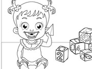 baby hazel coloring pages - photo#3